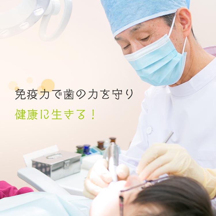 免疫力で歯の力を守り健康に生きる!
